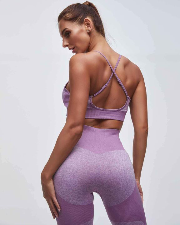 Enhanced Compression Fit Seamless Leggings Set gallery 2