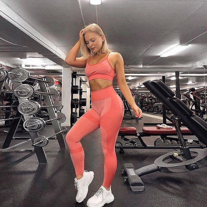 Enhanced Compression Fit Seamless Leggings Set gallery 5