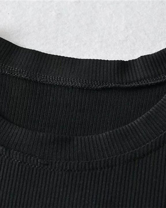 Rib Knit Cold Shoulder Bodycon Sweater gallery 12