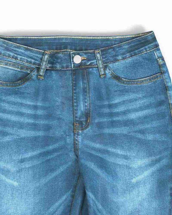 Classic Flare Hem High Waist Jeans gallery 17