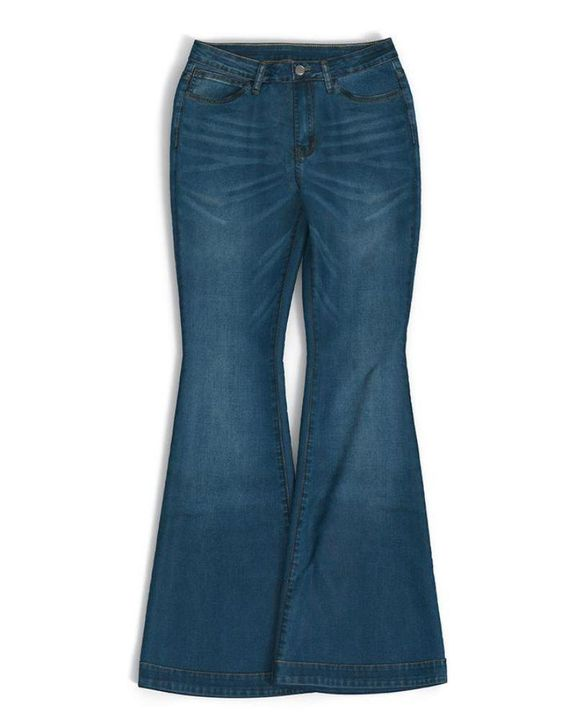 Classic Flare Hem High Waist Jeans gallery 10
