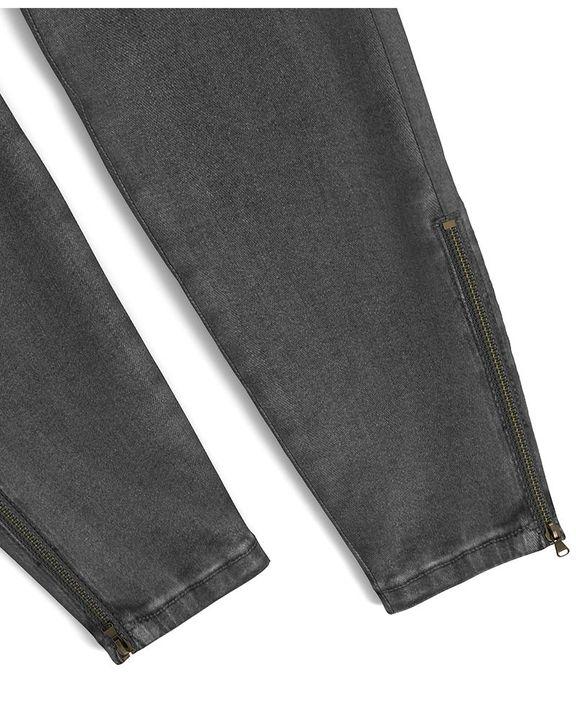 Flap Pocket Zipper Side Skinny Jeans gallery 35