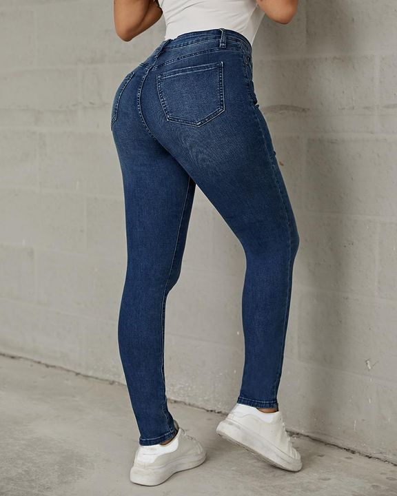 Classic Ripped Butt Lifting Skinny Jeans gallery 3