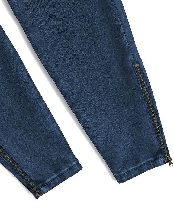 Flap Pocket Zipper Side Skinny Jeans gallery 25