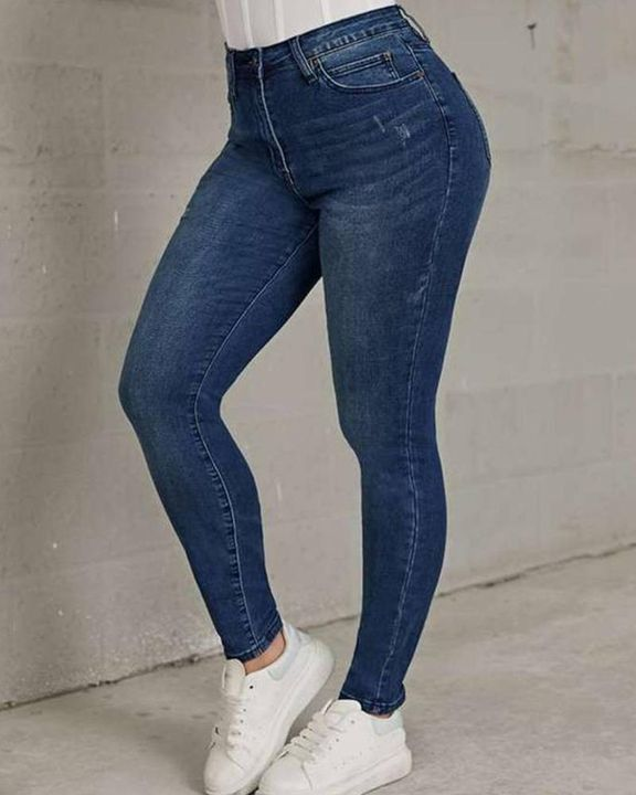 Classic Ripped Butt Lifting Skinny Jeans gallery 1