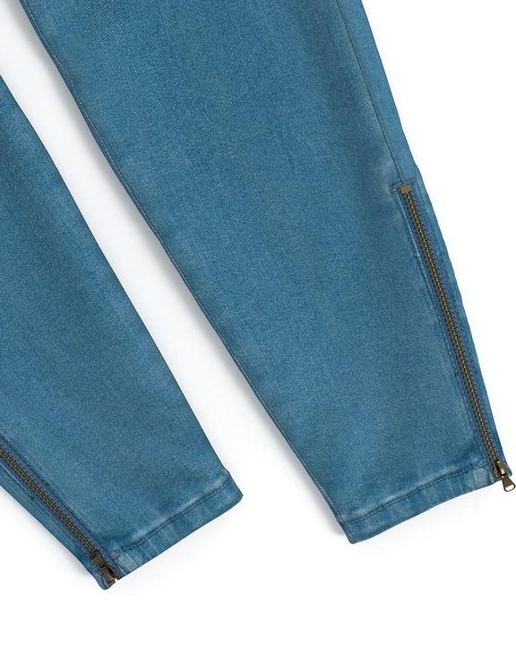 Flap Pocket Zipper Side Skinny Jeans gallery 15