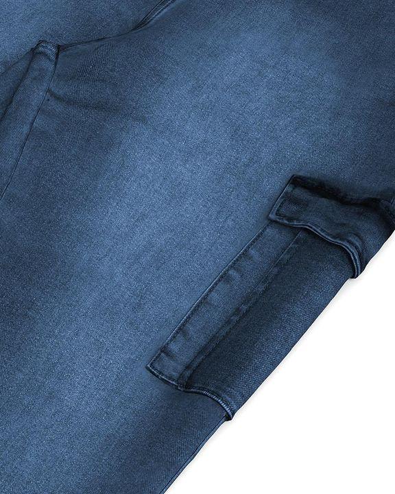 Flap Pocket Zipper Side Skinny Jeans gallery 26