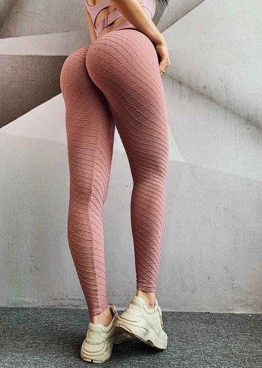 High Waist Butt Lifting Seamless Textured Leggings gallery 11
