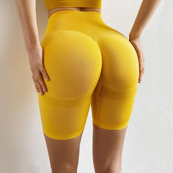 Beauty Contour Butt Lifting Fitness Sports Shorts gallery 2