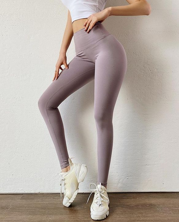 Ruched Bow Tie Back Sports Leggings gallery 8