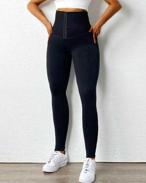 Body Shaping Waist Cincher Sports Leggings gallery 9
