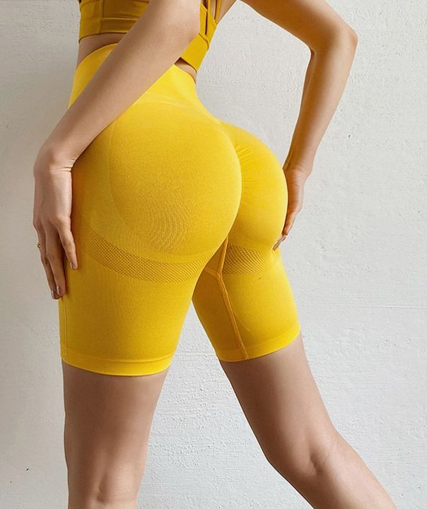 Beauty Contour Butt Lifting Fitness Sports Shorts gallery 7